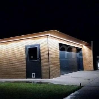 Garaż z płyty wielowarstwowej 396